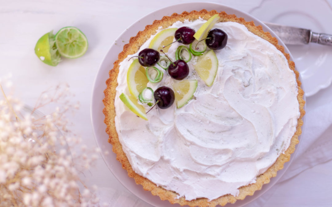 Lime Coconut Cream Tart
